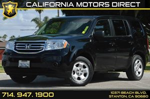 2013 Honda Pilot LX Carfax Report - No AccidentsDamage Reported 6 Cylinders Air Conditioning