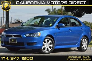 2015 Mitsubishi Lancer ES Carfax 1-Owner - No AccidentsDamage Reported 4 Cylinders Air Conditio