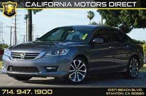 2014 Honda Accord Sedan Sport Carfax 1-Owner - No AccidentsDamage Reported 4 Cylinders Air Cond