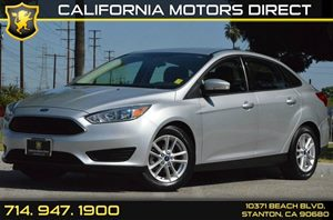 2015 Ford Focus SE Carfax 1-Owner - No AccidentsDamage Reported 4 Cylinders Air Conditioning