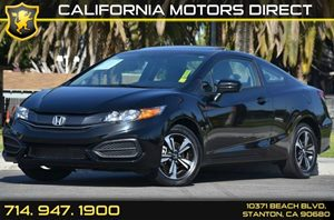 2015 Honda Civic Coupe EX Carfax 1-Owner 4 Cylinders Air Conditioning  AC Audio  AmFm Stere