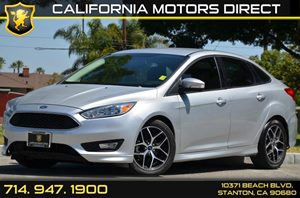 2015 Ford Focus SE Carfax Report 4 Cylinders Air Conditioning  AC Audio  AmFm Stereo Audio