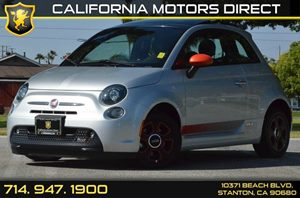2014 FIAT 500e ELECTRIC  Carfax 1-Owner - No AccidentsDamage Reported 0 Cylinders Air Condition