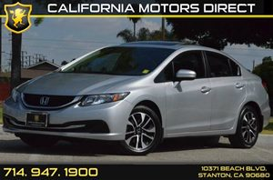 2014 Honda Civic Sedan EX Carfax 1-Owner 4 Cylinders Air Conditioning  AC Audio  AmFm Stere