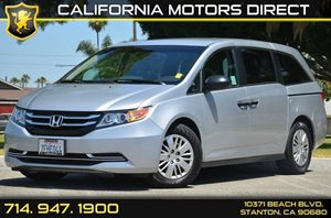 2014 Honda Odyssey LX Carfax 1-Owner - No AccidentsDamage Reported 6 Cylinders Air Conditioning