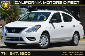 2015 Nissan Versa S Carfax 1-Owner - No AccidentsDamage Reported 4 Cylinders Air Conditioning