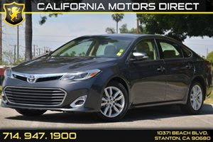 2014 Toyota Avalon XLE Carfax 1-Owner 6 Cylinders Air Conditioning  AC Audio  AmFm Stereo