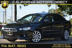 2011 Mitsubishi Lancer GTS Carfax Report 4 Cylinders Air Conditioning  AC Audio  AmFm Stere