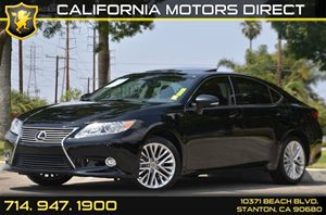 2014 Lexus ES 350  Carfax 1-Owner 6 Cylinders Air Conditioning  AC Audio  AmFm Stereo Audi