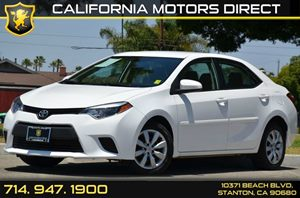 2014 Toyota Corolla LE Plus Carfax 1-Owner 4 Cylinders Air Conditioning  AC Audio  AmFm Ste