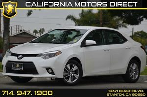 2014 Toyota Corolla LE ECO Carfax 1-Owner - No AccidentsDamage Reported 4 Cylinders Air Conditi