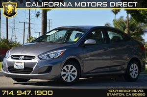 2015 Hyundai Accent GLS Carfax 1-Owner 4 Cylinders Air Conditioning  AC Audio  AmFm Stereo