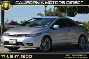 2008 Honda Civic Coupe Si Carfax Report 4 Cylinders Air Conditioning  AC Audio  AmFm Stereo