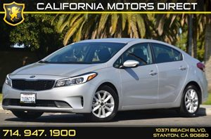 2017 Kia Forte LX Carfax Report 4 Cylinders Air Conditioning  AC Audio  AmFm Stereo Audio