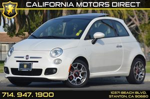2014 FIAT 500 Sport Carfax 1-Owner 4 Cylinders Air Conditioning  AC Audio  AmFm Stereo Aud