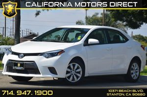 2016 Toyota Corolla LE Carfax 1-Owner - No AccidentsDamage Reported 4 Cylinders Air Conditionin
