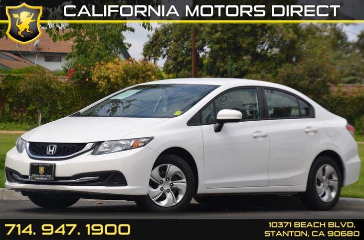 Sold Honda Civic Sedan LX In Stanton - 2014 honda civic lx sedan invoice price
