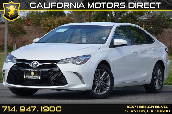 Sold 2015 Toyota Camry SE in Stanton