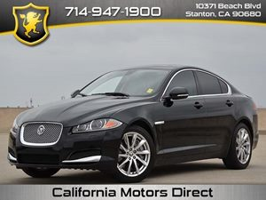 2012 Jaguar XF  Carfax 1-Owner - No Accidents  Damage Reported to CARFAX  Ebony  All advertis
