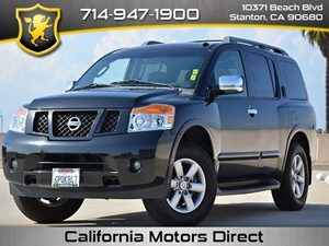 2011 Nissan Armada SV Carfax Report - No Accidents  Damage Reported to CARFAX  Espresso Black