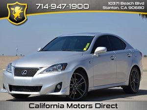 2011 Lexus IS 250 F- Sport Package Carfax Report - No Accidents  Damage Reported to CARFAX  Gl