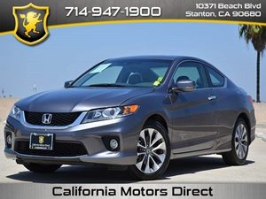2014 Honda Accord Coupe EX-Leather Carfax 1-Owner - No Accidents  Damage Reported to CARFAX  M