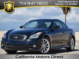 2013 Infiniti G37 Coupe Journey Carfax 1-Owner Air Conditioning  AC Audio  AmFm Stereo Audi