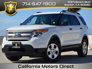 2012 Ford Explorer  Carfax Report - No Accidents  Damage Reported to CARFAX 17 Steel Wheels A