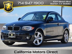 2012 BMW 1 Series 128i Carfax 1-Owner 6 Cylinders Audio  Auxiliary Audio Input Audio  Hd Radi