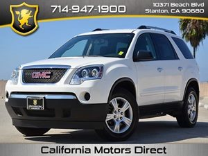 2011 GMC Acadia SL Carfax 1-Owner - No Accidents  Damage Reported to CARFAX  Summit White CLE