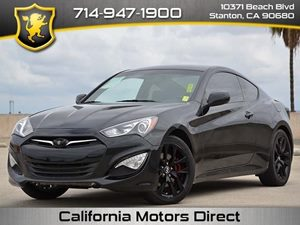 2013 Hyundai Genesis Coupe 20 turbo Carfax 1-Owner  Becketts Black CLEAN TITLE  23673 Per