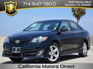 2012 Toyota Camry L Carfax 1-Owner  Attitude Black Metallic CLEAN TITLE  17957 Per Month -