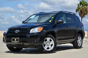 2012 Toyota RAV4  Carfax 1-Owner  Black  All advertised prices exclude government fees and tax