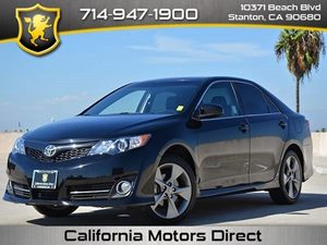 2012 Toyota Camry L Carfax 1-Owner  Attitude Black Metallic CLEAN TITLE  19386 Per Month -