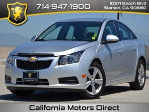 2014 Chevrolet Cruze 2LT Carfax 1-Owner Air Conditioning  AC Audio  AmFm Stereo Audio  Pre
