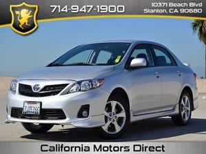 2013 Toyota Corolla S Carfax Report Air Conditioning  AC Audio  AmFm Stereo Audio  Auxilia