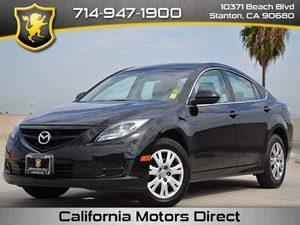 2013 Mazda Mazda6 i Sport Carfax 1-Owner - No Accidents  Damage Reported to CARFAX  Ebony Blac