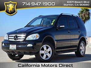 2005 MERCEDES ML350 M-Class Carfax Report - No Accidents  Damage Reported to CARFAX Air Conditio