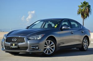 2014 Infiniti Q50 A Carfax 1-Owner - No Accidents  Damage Reported to CARFAX  Hagane Blue CLE