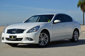 2013 Infiniti G37 Sedan Journey Carfax 1-Owner - No Accidents  Damage Reported to CARFAX  Moon
