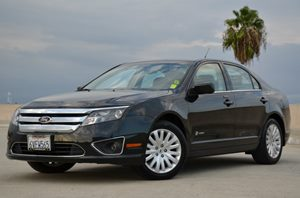 2012 Ford Fusion Hybrid Carfax 1-Owner  Black CLEAN TITLE  17177 Per Month - On Approved C
