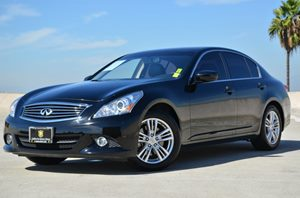 2013 Infiniti G37 Sedan Journey Carfax 1-Owner  Black Obsidian CLEAN TITLE  277 Per Month -