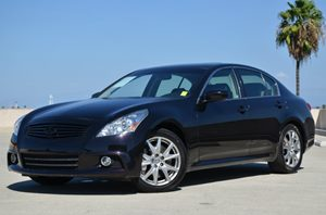 2012 Infiniti G37 Sedan Sport Carfax 1-Owner - No Accidents  Damage Reported to CARFAX Air Condi