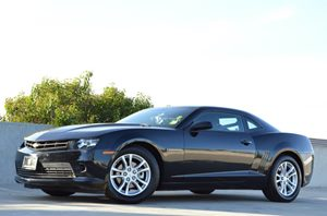 2015 Chevrolet Camaro LT Carfax 1-Owner  Black CLEAN TITLE  26791 Per Month - On Approved