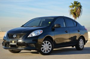2014 Nissan Versa Pure Drive Carfax Report Adjustable Front Bucket Seats -Inc 4-Way Manual Drive