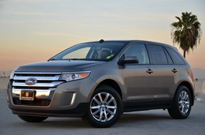 2013 Ford Edge SEL EcoBoost Carfax 1-Owner  Mineral Gray Metallic CLEAN TITLE  21594 Per M