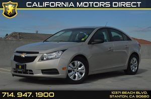 2012 Chevrolet Cruze LS Carfax 1-Owner - No Accidents  Damage Reported to CARFAX Air Conditionin