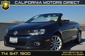 2012 Volkswagen Eos Komfort SULEV Carfax Report Air Conditioning  AC Audio  AmFm Stereo Aud