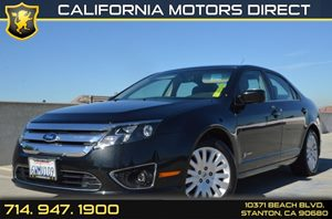 2012 Ford Fusion Hybrid Carfax 1-Owner 17 15-Spoke Aluminum Wheels Air Conditioning  AC Aud