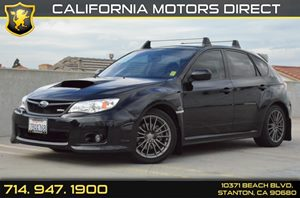 2013 Subaru Impreza WRX Carfax Report 17 Alloy Wheels Air Conditioning  AC Audio  AmFm St